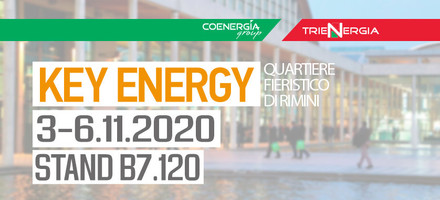 Fiera Key Energy 2020 dal 3 al 6 Novembre 2020