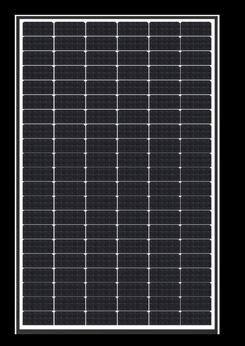 Pannello Solare Fotovoltaico Trienergia 126 mezze-celle MWT STAR