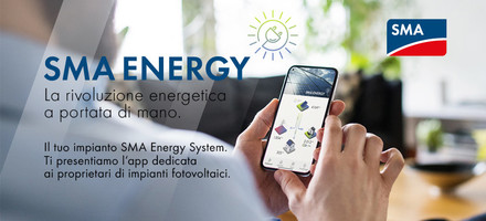 APP SMA Energy dedicata agli utenti finali