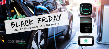 Black Friday con Wallbox