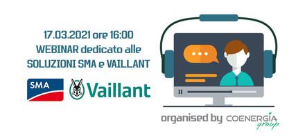 Webinar Coenergia con SMA e Vaillant 17.03.2021