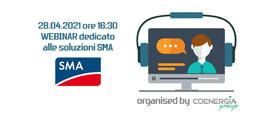 Webinar dedicato alle soluzioni SMA 28 Aprile 2021