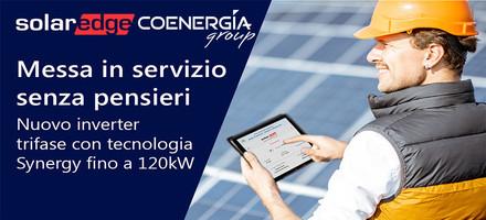 Nuovo Inverter Trifase con tecnologia Synergy di SolarEdge