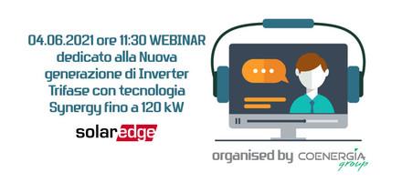Webinar Coenergia con SolarEdge 04.06.2021