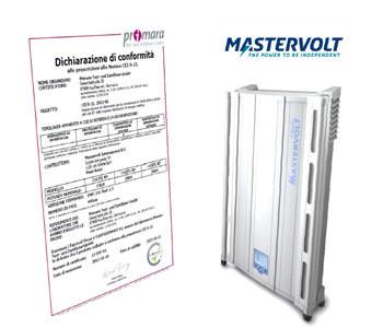 Certification For Iec 021 Series Mastervolt Cs
