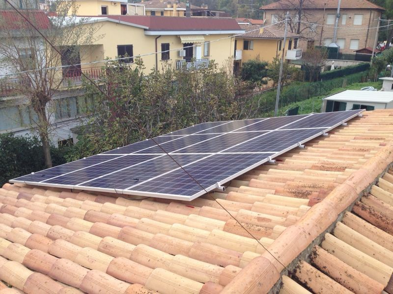 CSolutions S.r.l - Fano 3620 kWh annuali
