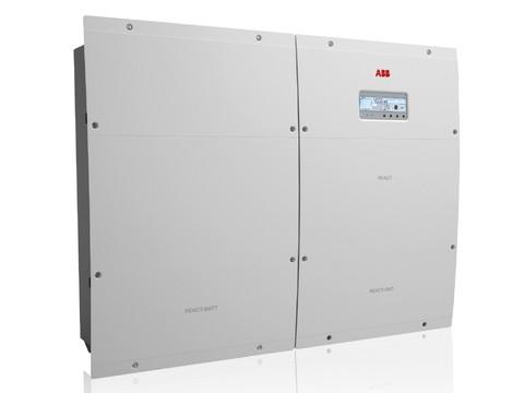 ABB React, inverter fotovoltaico con batteria accumulo integrata