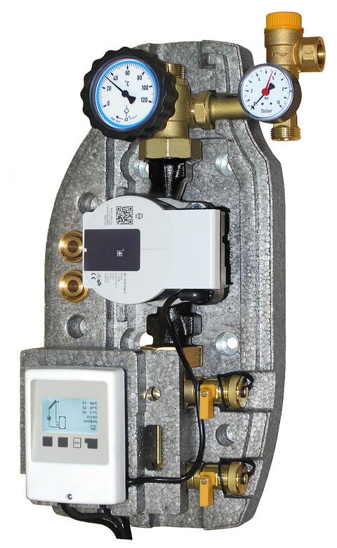 Staz. Solare SS-MC mono tubo con centralina