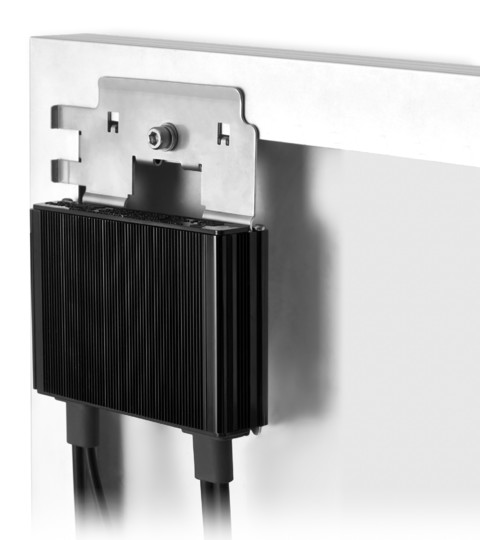 OP250LV55 ottimizzatore fissaggio su modulo