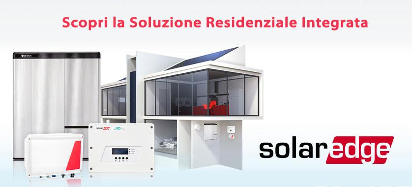 la soluzione integrata di solaredge