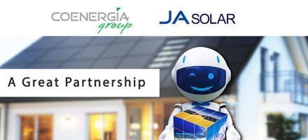 JA SOLAR e Coenergia partnership