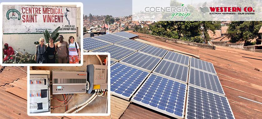 Impianto Fotovoltaico Stand-Alone in Congo