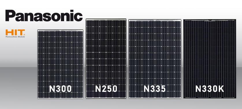 Nuovi moduli Panasonic