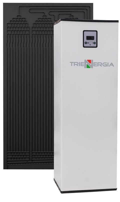 Trienergia TRI-TE: kit solare termodinamico per produzione acqua calda sanitaria