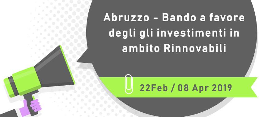 Bando Abruzzo