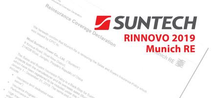 Rinnovo copertura assicurativa Suntech