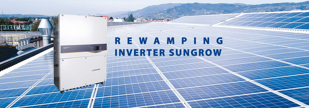Revamping con inverter Sungrow - 1000mq