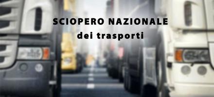 sciopero nazionale dei trasporti