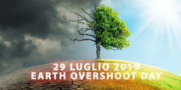 July 29th 2019: EARTH OVERSHOOT DAY