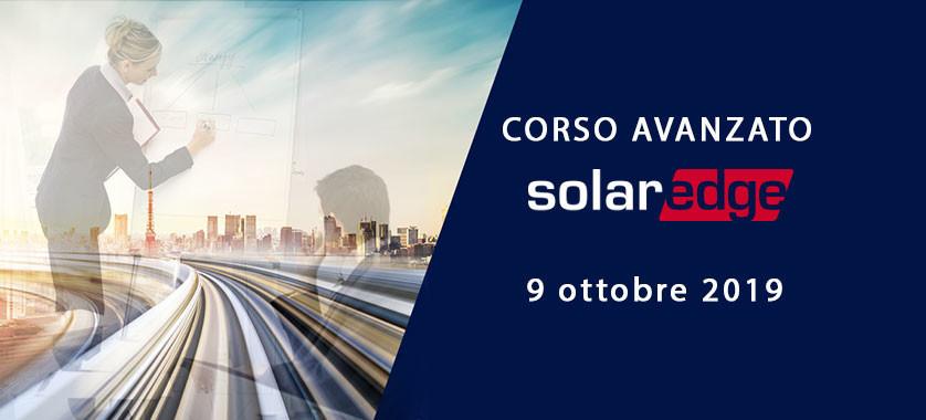corso avanzato solaredge 9 ottobre 2019