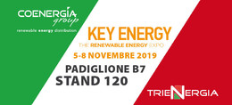 Fiera Key Energy 2019 - Coenergia Stand B7.120