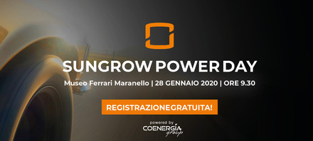 Sungrow Power Day Maranello