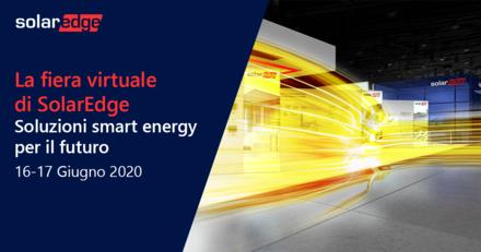 Fiera Virtuale SolarEdge 2020