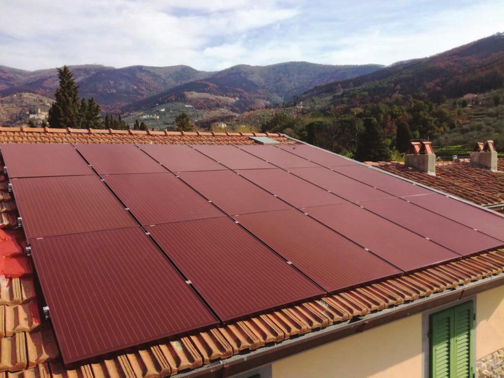 Impianto Fotovoltaico Trienergia RED